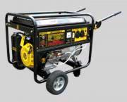 Электрогенератор бензиновый Huter DY6500LX с колёсами и аккумулятор
