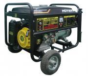 Электрогенератор бензиновый Huter DY8000LX с колёсами