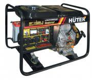 Электрогенератор дизельный Huter LDG5000CLE
