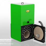 Твердотопливный пиролизный котел Mini Bio Lux 10кВт