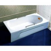 Ванна акриловая 1.5м appollo TS-1502Q с ручками