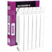 Радиатор алюминиевый teplox RA-500/80 6 секций
