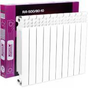 Радиатор алюминиевый teplox RA-500/80 10 секций