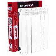 Радиатор биметаллический teplox RB-500/80 6 секций