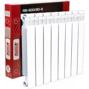 Радиатор биметаллический teplox RB-500/80 8 секций