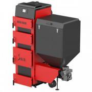 Автоматический твердотопливный котел Metal Fach серии SD DUO от 14кВт до 35кВт