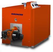 Стальной жаротрубный котел Euronord K200 на отработанном масле
