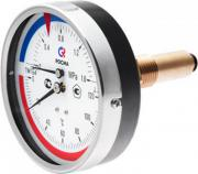 Термоманометр осевой (аксиальный) ТМТБ 31 Т 10кгс/см2, 0-120 град
