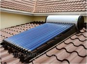 Солнечный водонагреватель JW47-16, бак 100 литров